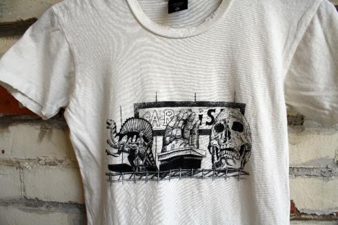 Collaboration Ninkybink tee with Artist Vicki Lee (www.vickileestudio.com)