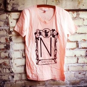 Logo tee I designed for Ninkybink