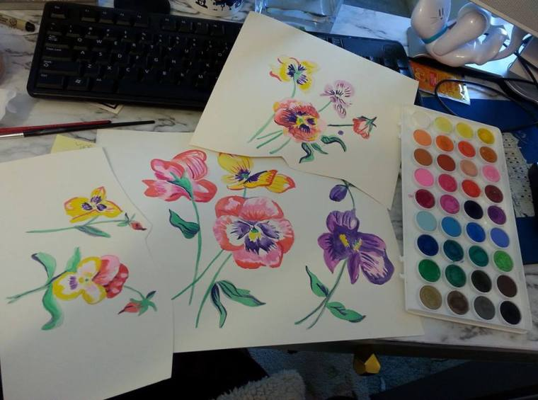 orchidswatercolor